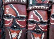 Africké drevené masky