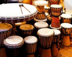 Africké hudobné nástroje