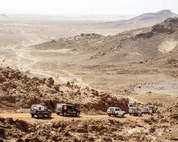 Off road v púšti