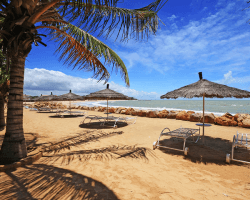 Pláž v Saly, Senegal